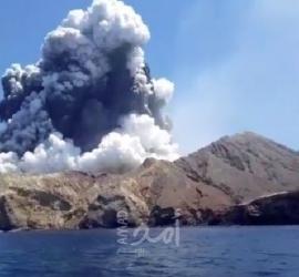 """إغلاق مطار جزيرة لا بالما الإسبانية مع اشتداد ثوران بركان """"كومبري فييخا"""""""