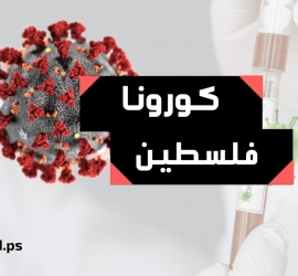 """الصحة الفلسطينية: حالتا وفاة و(216) إصابة بـ""""كورونا"""" في الضفة وغزة"""