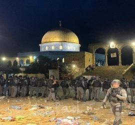 مواجهات القدس المحتلّة: 163 إصابة في الأقصى وباب العامود والشيخ جراح ... فيديو - صور
