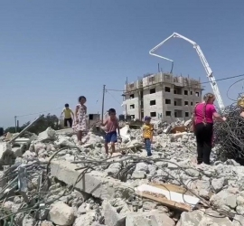 سلطات الاحتلال تخطر بهدم منزل قيد الانشاء شرق بيت لحم