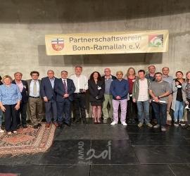 حفل حاشد في ألمانيا بتأسيس جمعية التآخي بون - رام لله