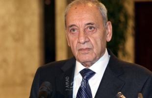 ردا على كوشنير.. بري: لبنان لا يريد استثمارات على حساب القضية الفلسطينية
