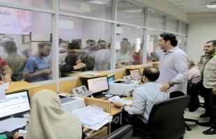 الحردان يتفقد آلية صرف المساعدات النقدية لـ 100 ألف أسرة فقيرة بغزة