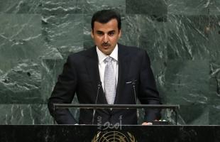 أمير قطر: استمرار احتلال الأراضي الفلسطينية والعربية وحصار غزة تحدِ علني للقرارات الأممية