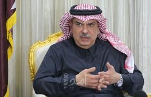 """السفير القطري """"محمد العمادي"""" يصل غزة"""