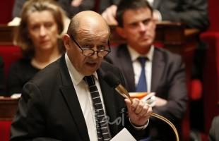 الخارجية الفرنسية: سنعتبر أي تحرك إسرائيلي لضم أراض بالضفة الغربية انتهاكا خطيرا