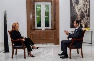 """الرئاسة السورية: انتظروا مقابلة لم تبث مع """"الأسد""""!"""