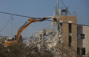 صحيفة عبرية: ارتفاع معدل هدم المباني الفلسطينية في العام 2019