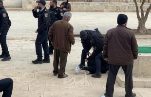 شرطة الاحتلال  تعتقل شاباً بتهمة حيازته سكين في القدس