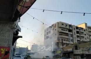 اصابة شاب خلال التصدي لاقتحام قوات الاحتلال والمستوطنين في نابلس والقدس
