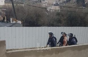 """القدس:  قوات الاحتلال تشرع بحملة اعتقالات في """"جبل المكبر"""""""