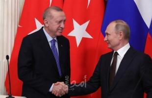 بوتين ينهي فترة العزل الذاتي عند لقائه أردوغان