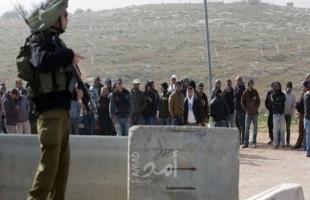 وزير جيش الاحتلال يسمح للعمال الفلسطينيين المبيت في اسرائيل!