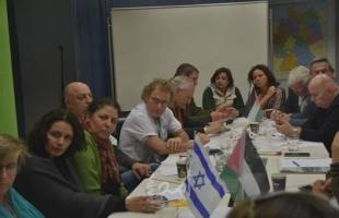 بمشاركة ملادينوف...لقاء بين عائلات شهداء فلسطينيين وعائلات قتلى إسرائيليين