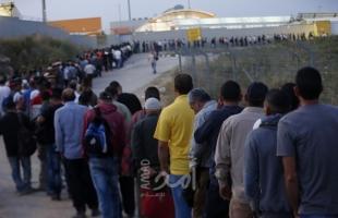 سلطات الاحتلال تقرر عودة آلاف العمال الفلسطينيين للعمل داخل إسرائيل بدءاً من الأحد