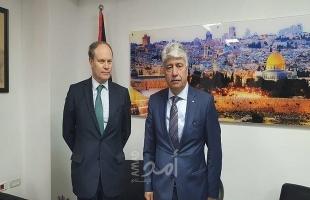 مجدلاني يدعو فرنسا لقيادة حملة بالاتحاد الاوروبي للاعتراف بالدولة الفلسطينية