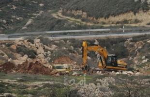 """الخليل: تجريف أراضٍ شرق يطا لتوسعة مستوطنة """"حافات طاليا"""""""