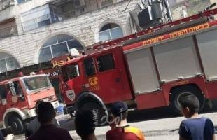 الهلال الأحمر: إصابة 5 مواطنين في حريق كبير بمنزل بالقدس
