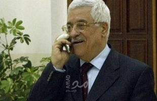 الرئيس عباس والرئيس التونسي يُناقشان التطورات المتعلقة بالأوضاع السياسية