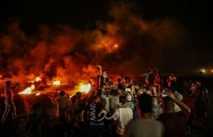 محدث .. إصابة شاب بقنبلة غاز في صدره خلال فعاليات الإرباك الليلي شمال قطاع غزة