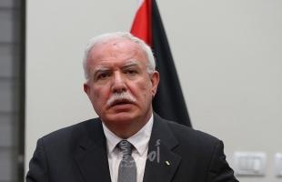 المالكي: إجماع دولي حول دعوة الرئيس عباس لعقد مؤتمر للسلام