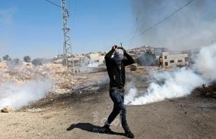 إصابة شاب برصاص قوات الاحتلال خلال مواجهات في رام الله