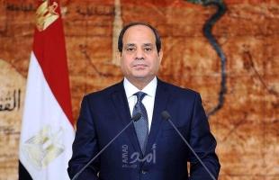 السيسي يدعو كافة القوى الاقليمية والدولية لدعم جهود مصر لإعادة الإعمار قطاع غزة