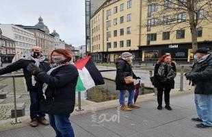 الدنمارك: مجموعة العمل من أجل فلسطين تواصل حملتها بالدعوة لمقاطعة البضائع الإسرائيلية