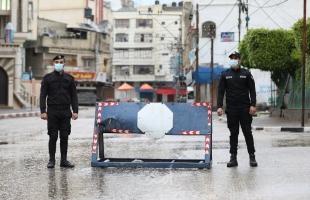 """قطاع غزة يدخل الإغلاق الشامل لـ(48) ساعة لمنع تفشي """"كورونا""""- صور"""