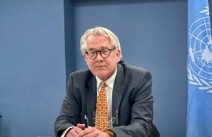 ممثل الأمم المتحدة وينسلاند: على القيادة الفلسطينية تحديد موعد جديد للانتخابات