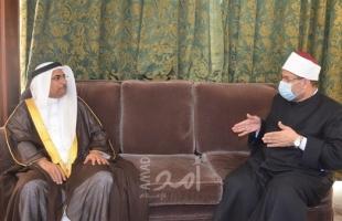 وزير الأوقاف المصري يثمن دور الملك البحريني في دعم قضايا الحق والعدل وإعلاء الوسطية