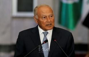 """أبو الغيط لـ""""وزير الدولة الألماني"""": من دون عملية سياسية سينفجر الوضع مجدداً في فلسطين"""