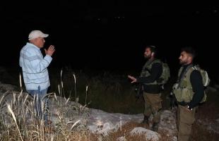 مواطنون يتصدون لهجمات المستوطنين في رام الله- صور