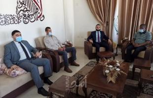 نيابة حماس والمباحث العامة يناقشان آليات تطوير أساليب التحرّي وجمع الاستدلالات