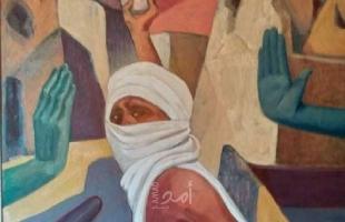 """(60) فناناً مصرياَ يجتمعون لدعم القضية الفلسطينية في معرض """"دقوا الجدران""""- صور"""