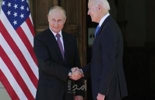 """صحيفة تكشف عن  حديثٌ """"سريّ"""" بين بوتين وبايدن"""
