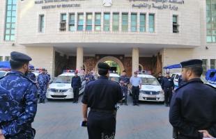 عناصر الشرطة تنتشر في كافة محافظات قطاع غزة لتأمين لجان إمتحانات الثانوية العامة- فيديو