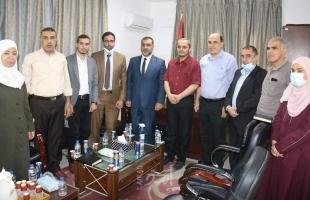 غزة: النائب العام ووكيل وزارة العمل يبحثان القضايا المجتمعية الخاصة بحقوق العمال