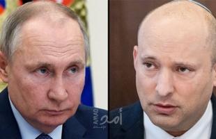 في أول مكالمة بينهما .. بوتين وبينيت يتحدثان عن الأمن الإقليمي