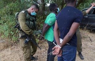 جيش الاحتلال يعتقل متسللاً عبر الحدود مع الاردن