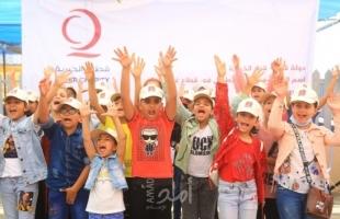 قطر الخيرية تقدم الدعم النفسي لأطفال غزة