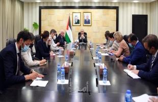 اشتية: يجب على أوروبا العمل لإلزام إسرائيل بوقف انتهاكاتها بحق شعبنا