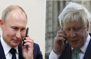 الكرملين: بوتين وجونسون بحثا سبل الحفاظ على الاتفاق النووي الإيراني