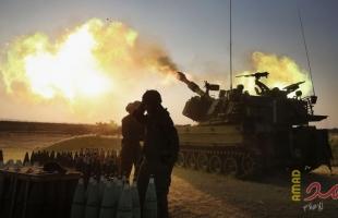 """مدفعية الاحتلال تستهدف """"نقطة عسكرية"""" شرق دير البلح"""