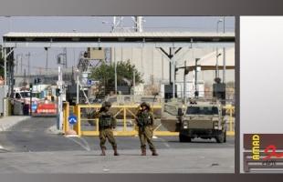قوات الاحتلال تعتقل شاب على حاجز  عسكري جنوب نابلس