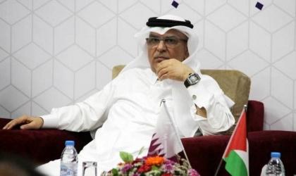 مغادرة السفير القطري محمد العمادي قطاع غزة
