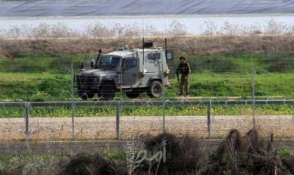 جيش الاحتلال  الإسرائيلي يطلق تدريبات قرب السياج الفاصل مع قطاع غزة