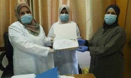 """د.صافي: دور ريادي لكادر التمريض بـ قسم الصحةفي """"الأونروا""""- صور"""