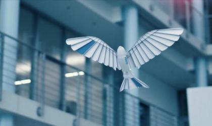 شركة ألمانية تبتكر طيورًا روبوتية مزودة بريش اصطناعى