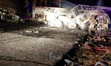 مصرع 20 مواطنا مصريا جراء حادث سير في محافظة أسيوط - صور